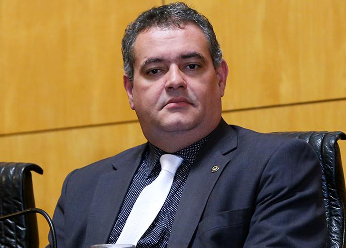 Deputado Sandro Locutor atual presidente da Corregedoria.