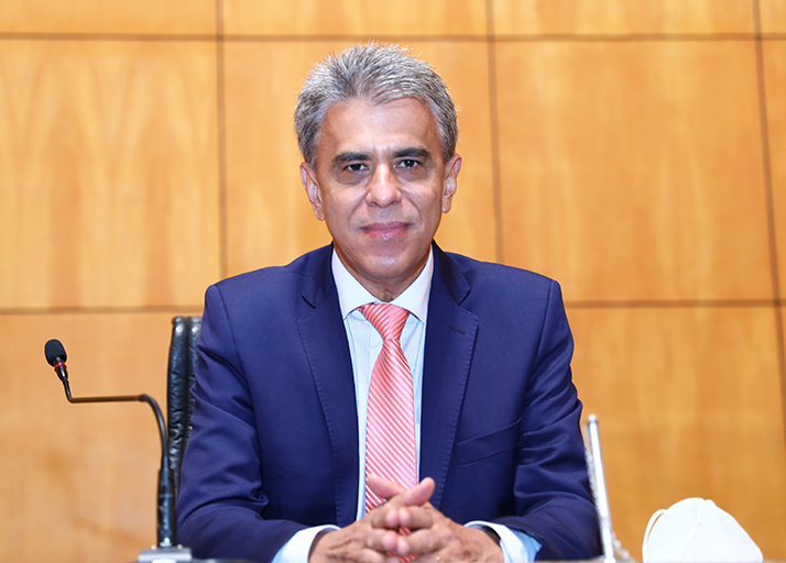 Deputado Hudson Leal atual presidente da Corregedoria.