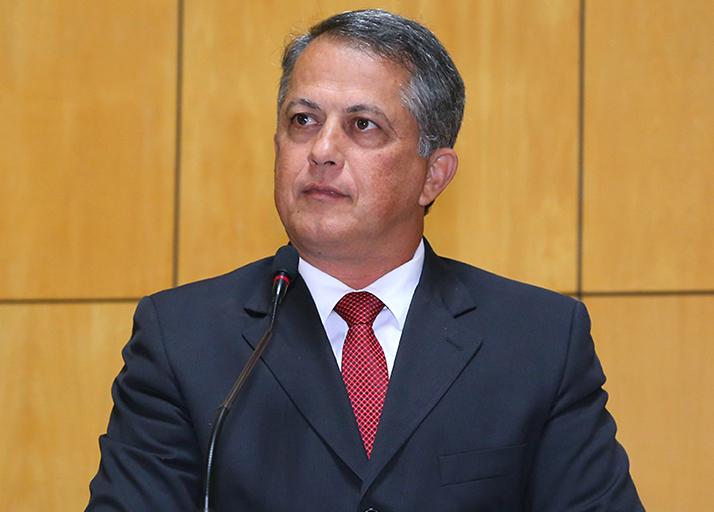 Deputado Jamir Malini atual vice presidente da corregedoria.