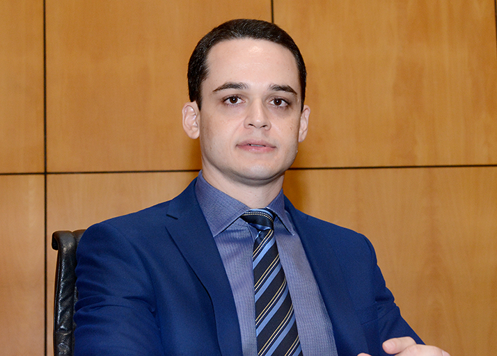 Deputado Delegado Lorenzo Pazolini atual Ouvidor parlamentar.