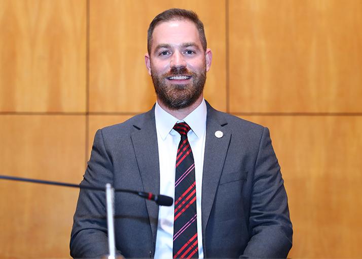 Deputado Renzo Vasconcelos atual Ouvidor parlamentar.