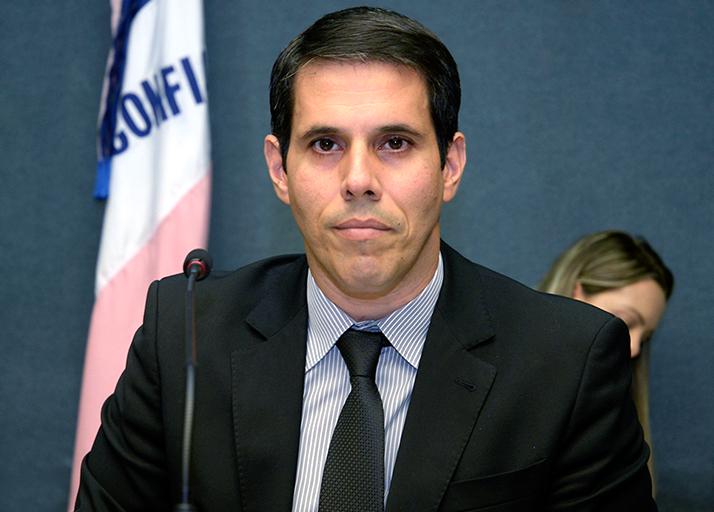 Deputado Amaro Neto atual Ouvidor parlamentar.