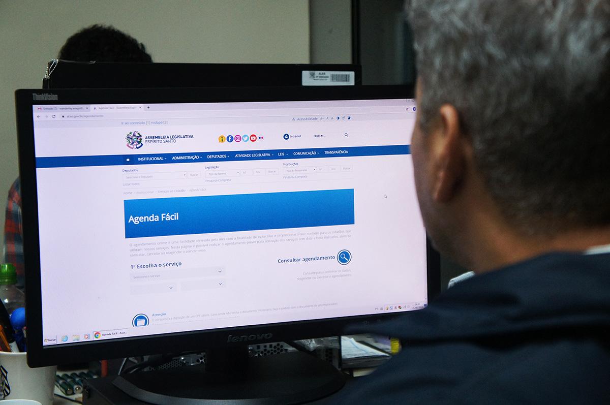 Agendamento para emissão de carteira de identidade