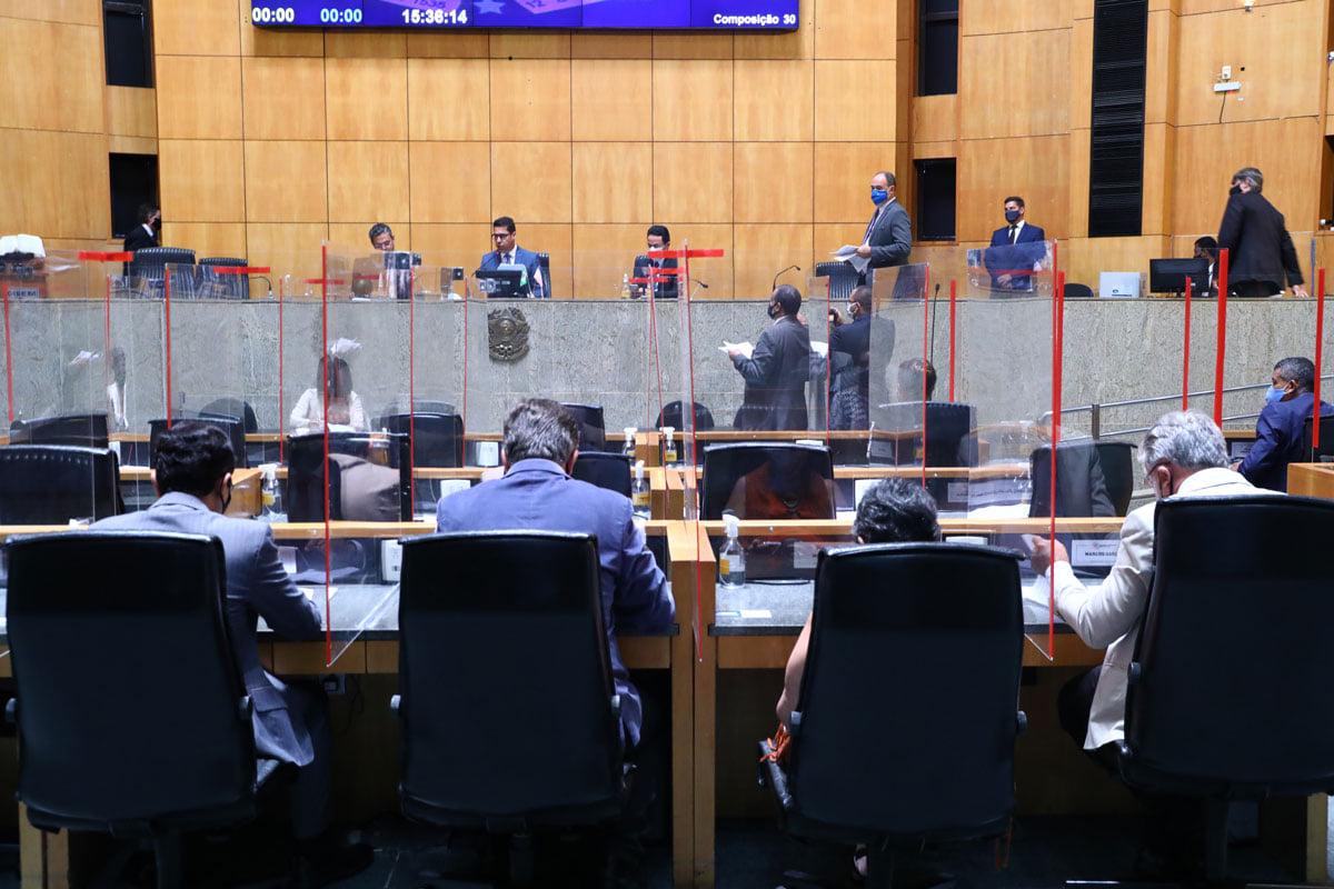 Imagem panorâmica do Plenário
